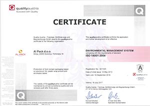 Standard - ISO14001